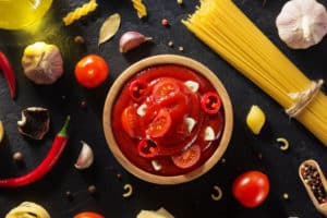 Receta de Salsa en Aceite de Chile