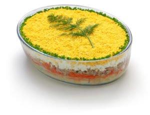 Receta de Ensalada Mimosa