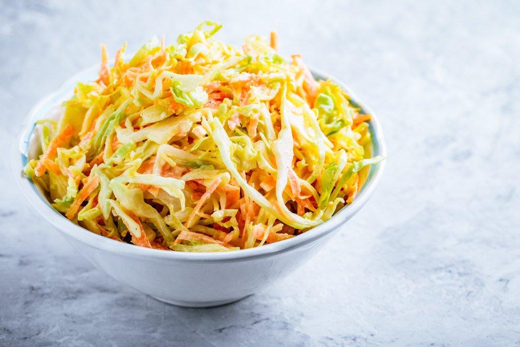Receta de Ensalada de Col con Zanahoria
