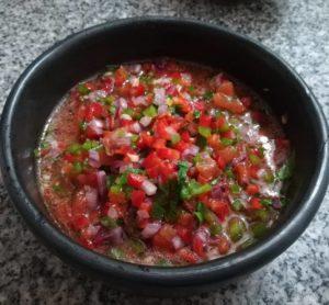 Receta de Salsa Criolla