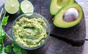 Receta de Salsa de Guacamole