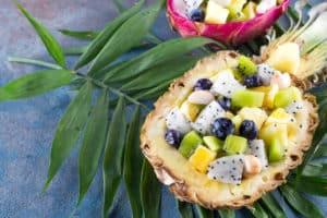 Receta de Ensalada Hawaiana con Piña