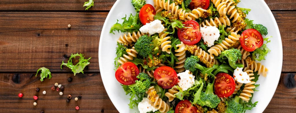Receta de Ensalada Italiana con Pasta
