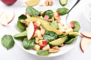 Receta de Ensalada de Espinaca y Manzana