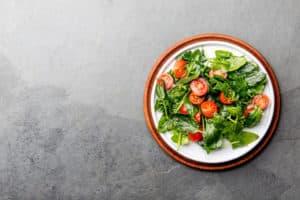 Receta de Ensalada de Espinaca y Tomate