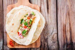 Receta de Ensalada de Tacos de pescado