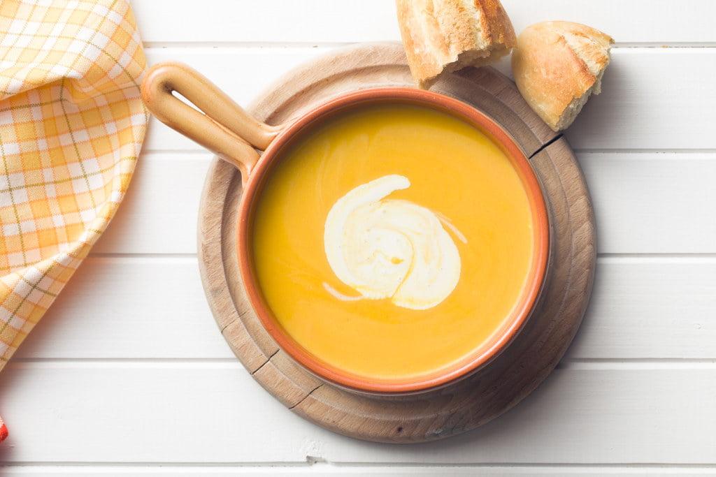 Receta de Sopa Crema de Calabaza