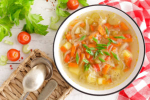 Receta de Sopa Juliana de Verduras