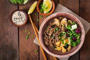 Receta de Sopa Oriental