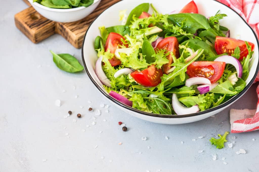 Receta de Ensalada Mixta de Verduras