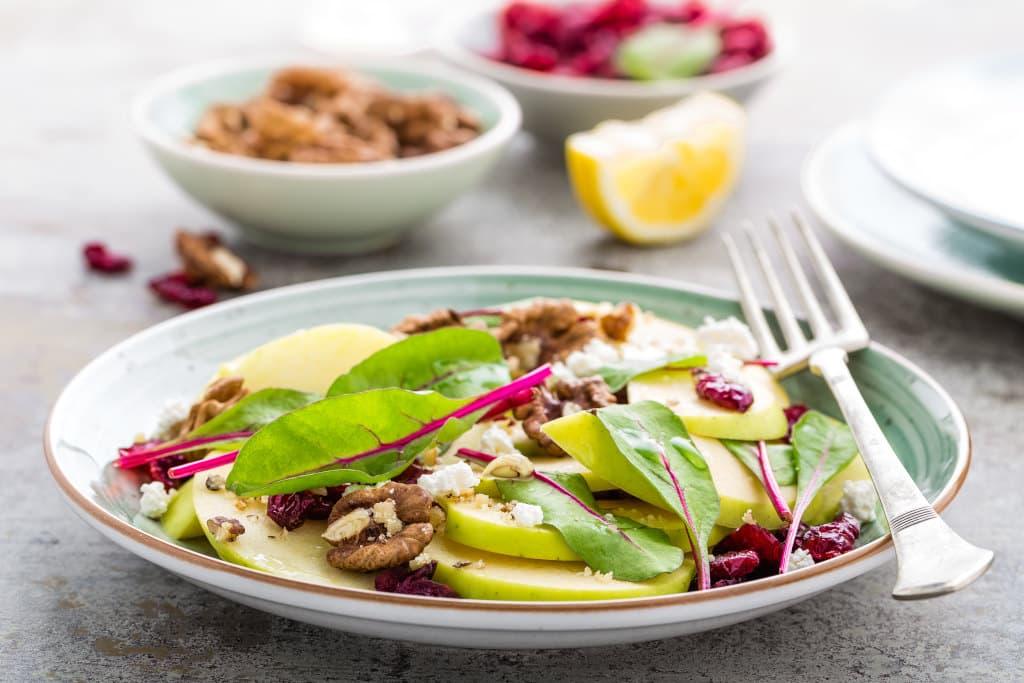 Receta de Ensalada Verde con Frutas