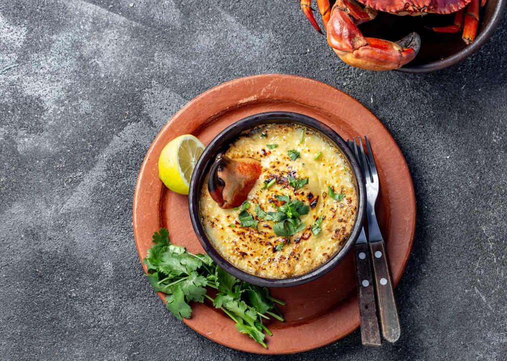 Receta de Sopa de Cangrejo y Maíz