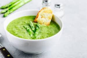 Receta de Sopa de Espárragos
