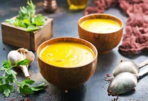 Receta de Sopa de Hinojo y Zanahoria