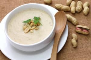 Receta de Sopa de Maní