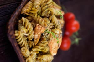 Receta de Pasta Integral con Pollo