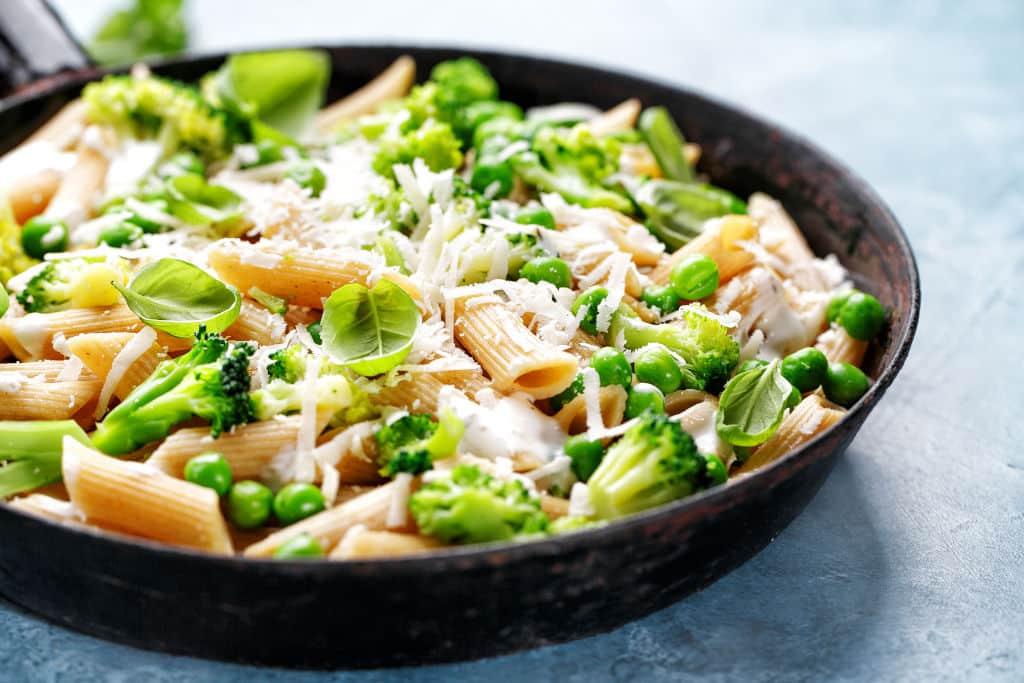 Receta de Pasta Integral con Verduras