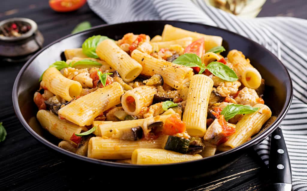 Receta de Pasta Italiana con Pollo