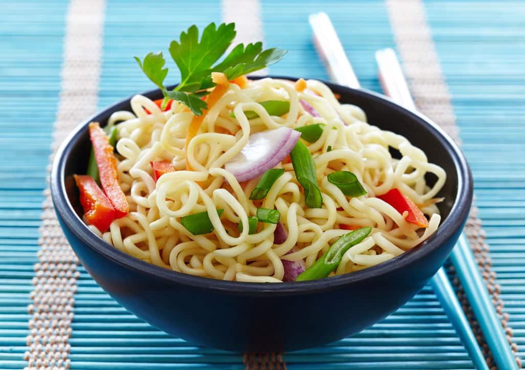 Receta de Pasta Tailandesa con Pollo