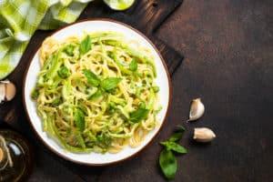Receta de Pasta Verde con Chile Poblano