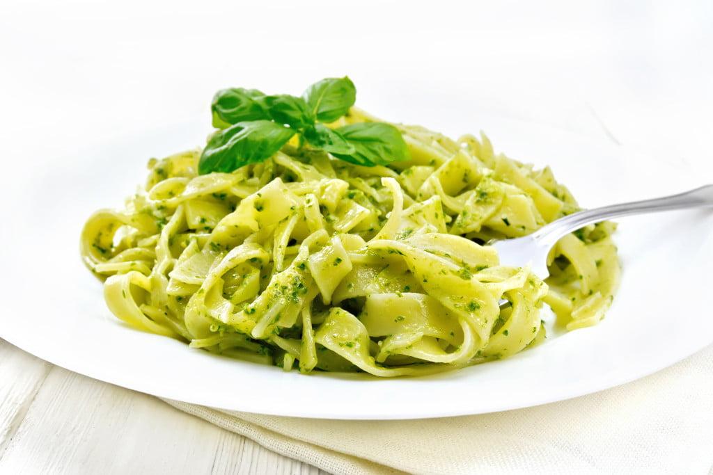 Receta de Pasta al Pesto