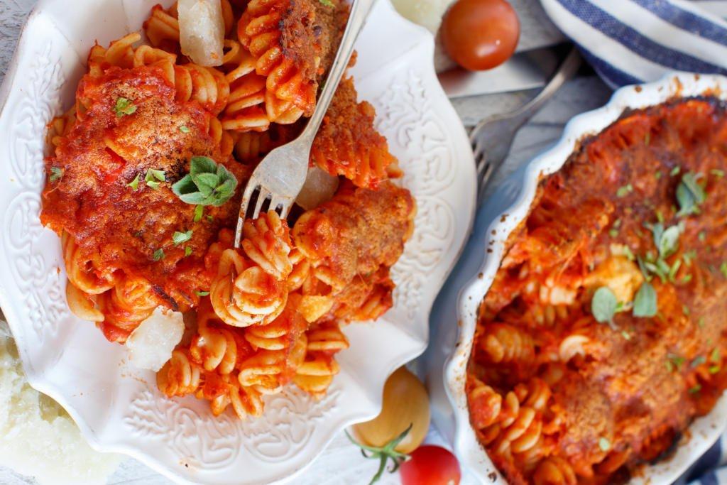 Receta de Pasta con Mozzarella y Tomate