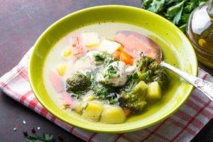Receta de Sopa Brócoli y Zanahoria