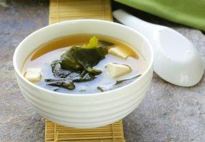 Receta de Sopa Japonesa