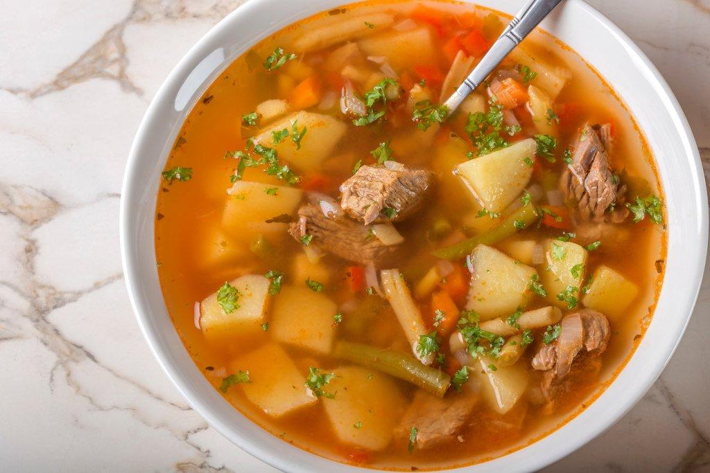 Receta de Sopa Mondongo