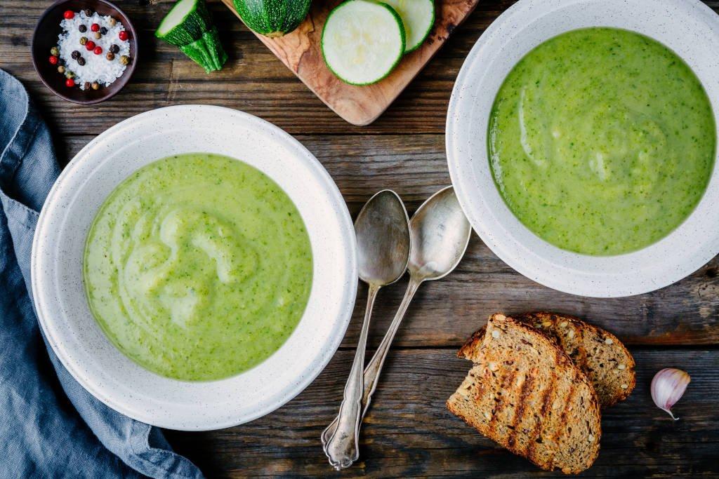 Receta de Sopa Verde