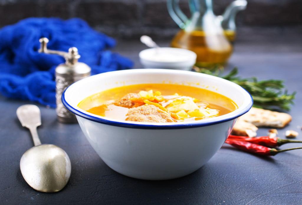 Receta de Sopa a La Minuta de Carne Molida