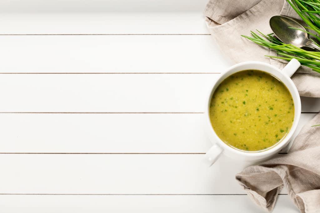Receta de Sopa de Alcachofas
