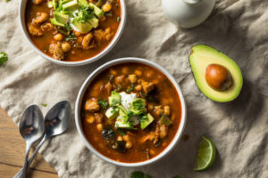 Receta de Sopa de Chile Poblano
