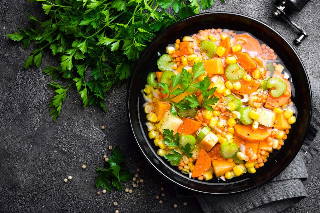 Receta de Sopa de Lentejas con Verduras