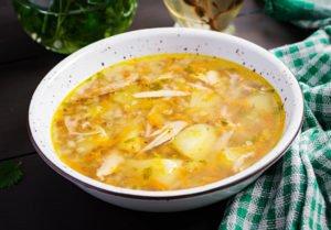 Receta de Sopa de Papa y Cebolla