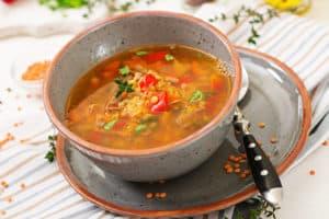 Receta de Sopa de Tomillo