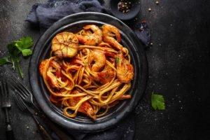 Receta de Camarones en Salsa de Tomate