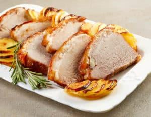 Receta de Lomo de Cerdo Glaseado con Miel