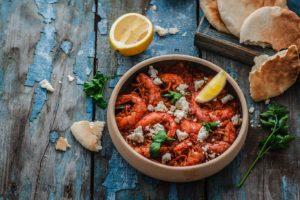 Receta de Camarones en Salsa Roja