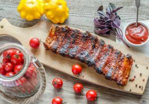 Receta de Costillas de Cerdo en Salsa Barbacoa