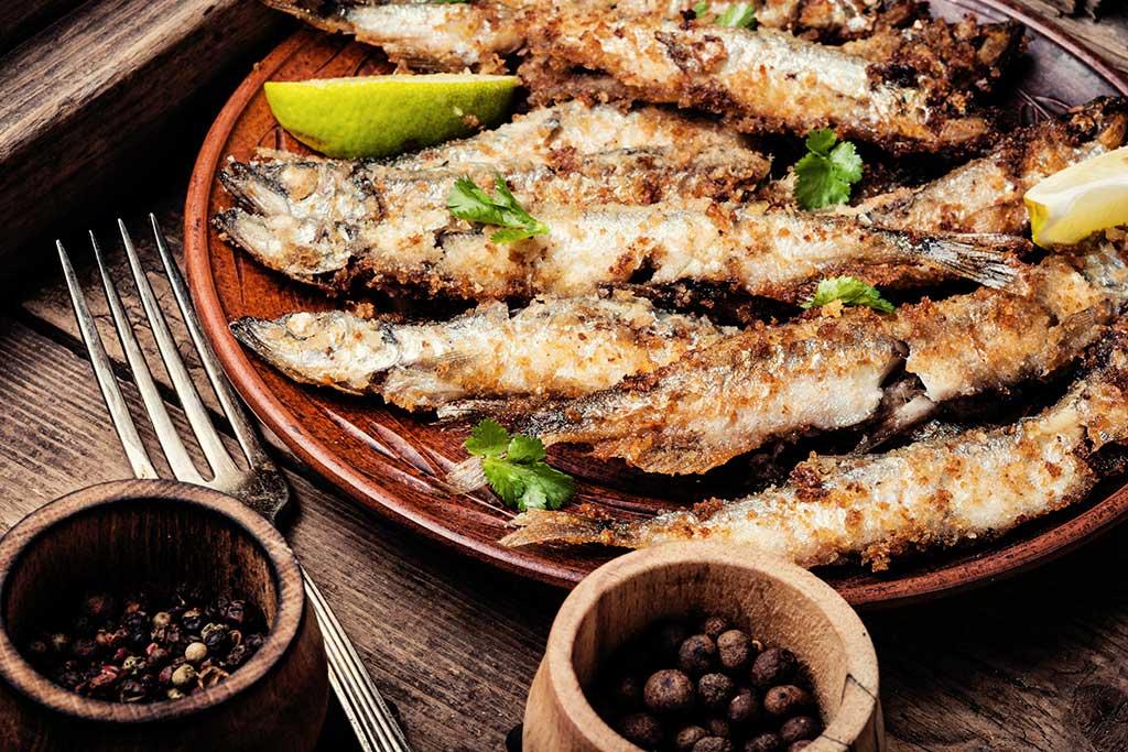 Receta de Pescado Frito Crujiente