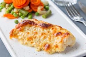 Receta de Pescado con Queso Parmesano