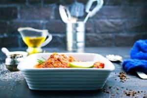 Receta de Pescado en Salsa de Mariscos