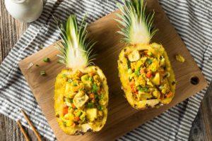 Receta de Pollo Hawaiano