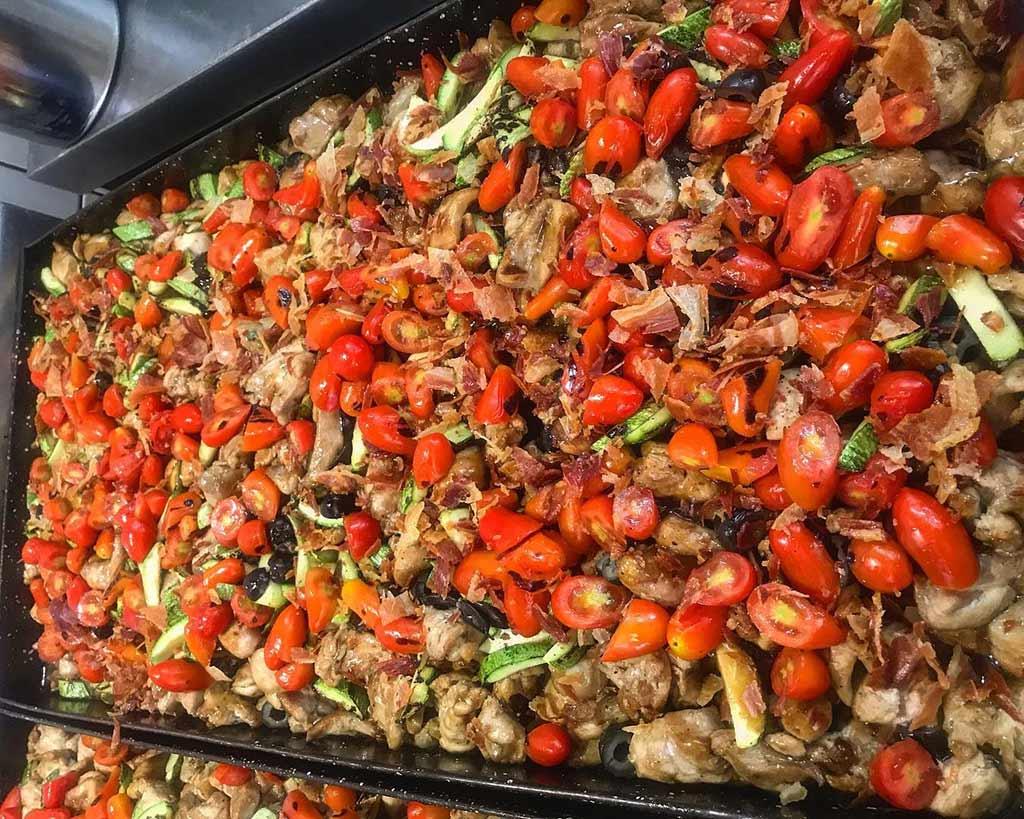 Receta de Pollo Mediterraneo