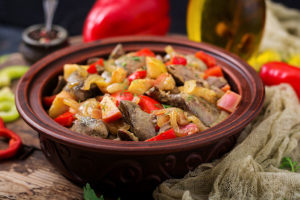Receta de Pollo Salteado con Verduras