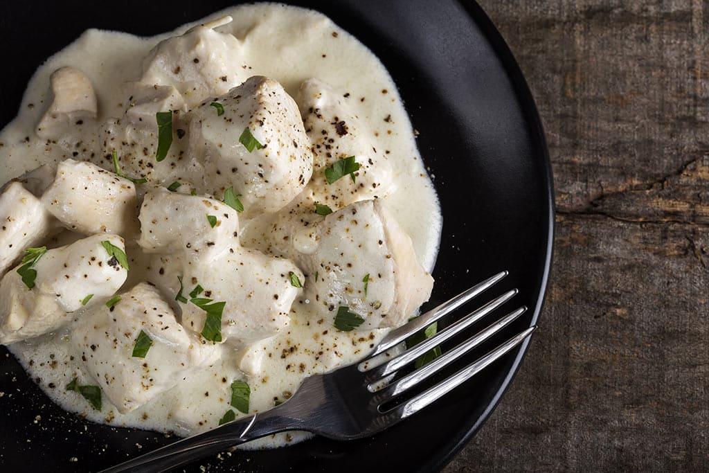 Receta de Pollo a la Crema