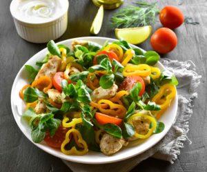 Receta de Pollo con Vegetales