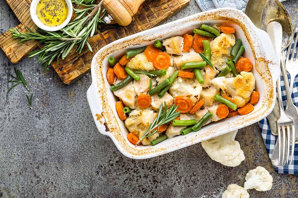 Receta de Pollo con Zanahoria