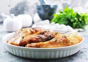 Receta de Pollo para Navidad